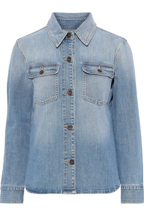 FRAME Faded denim shirt