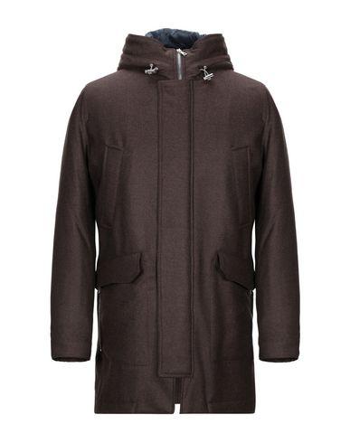 Фото - Мужское пальто или плащ ELEVENTY темно-коричневого цвета