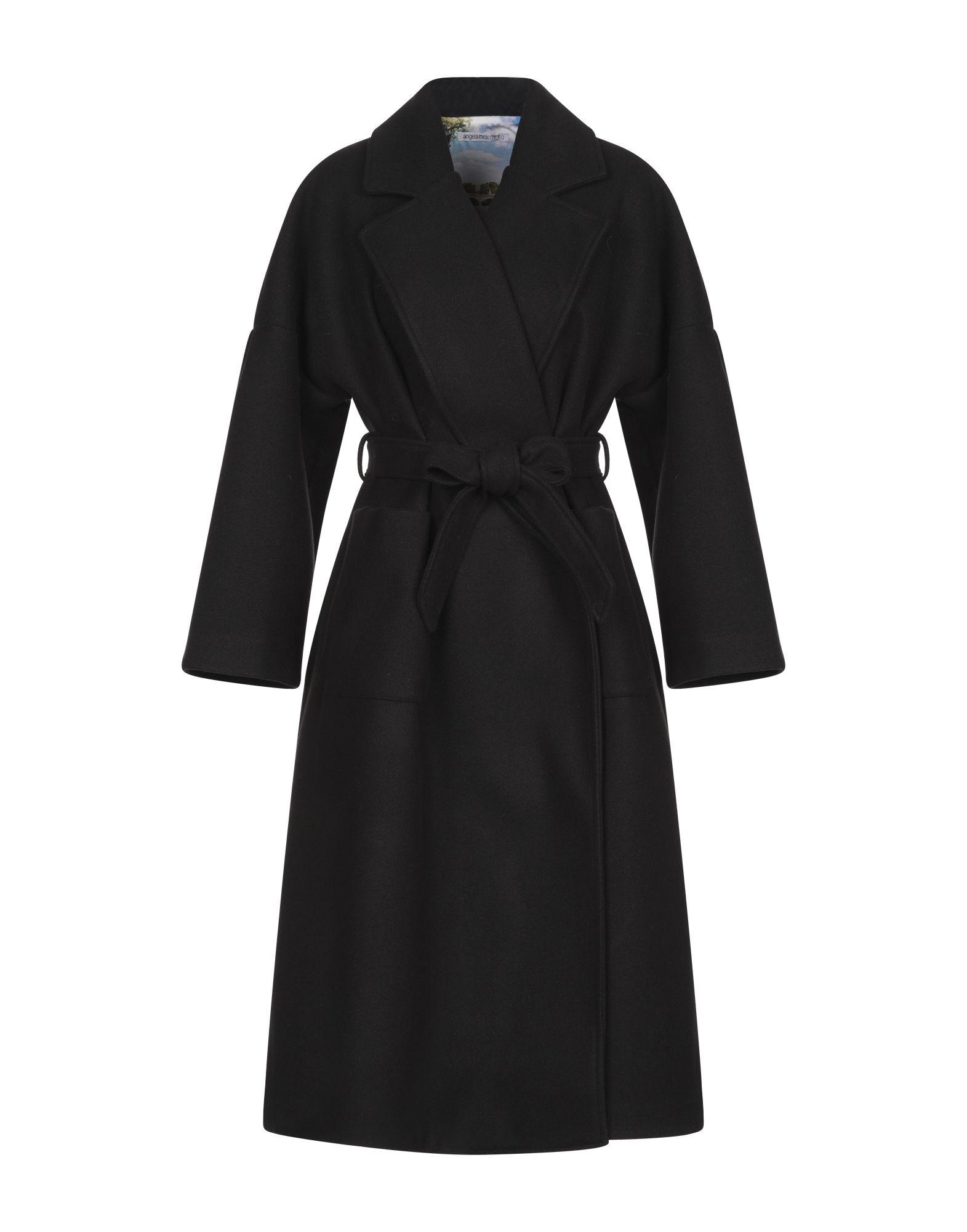 ANGELA MELE MILANO Пальто недорго, оригинальная цена