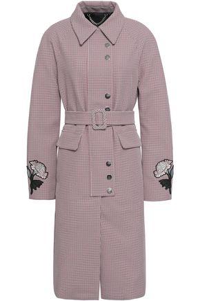 MARKUS LUPFER Appliquéd jacquard coat