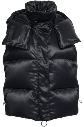 OFF-WHITE™ Quilted shell hooded down vest