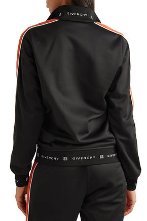 GIVENCHY Striped neoprene jacket