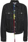 LOEWE Embellished embroidered denim jacket