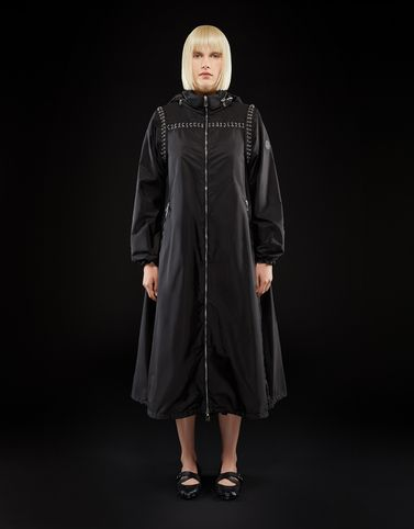 Moncler Coats & Trench Coats Woman: BRASS
