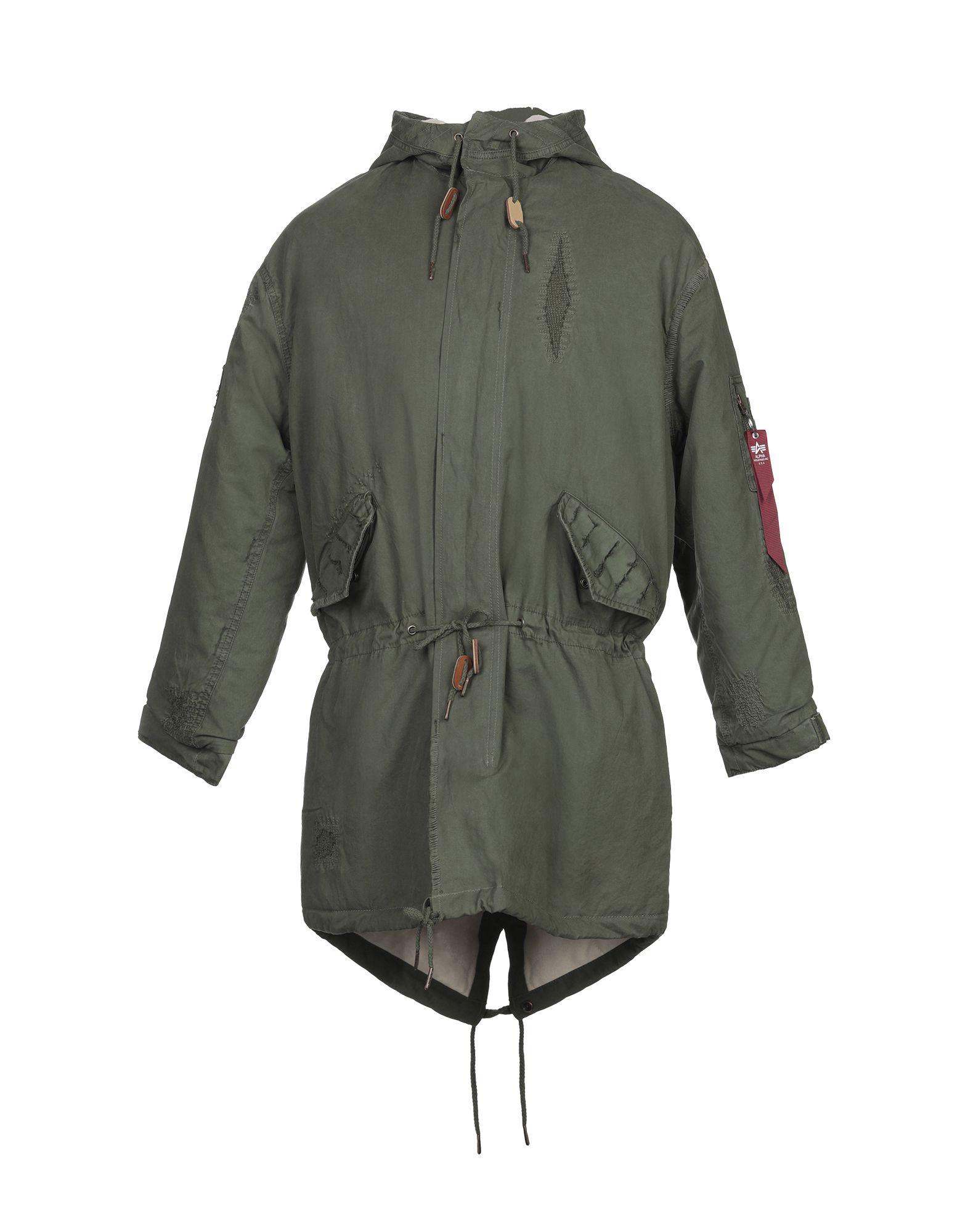ALPHA INDUSTRIES Пальто одежда alpha industries