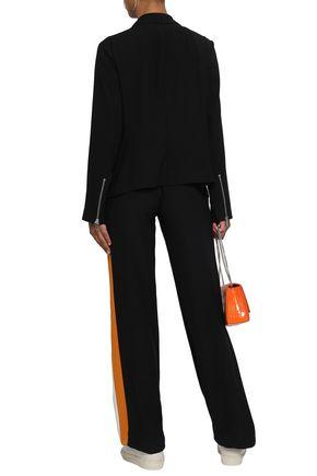 DKNY Draped satin-crepe jacket