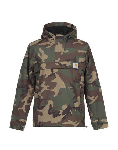 Фото - Мужскую куртку CARHARTT цвет зеленый-милитари