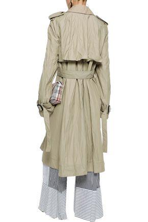 J.W.ANDERSON Crinkled-gabardine trench coat