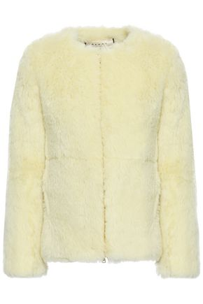 MARNI Alpaca, cotton and mohair-blend coat