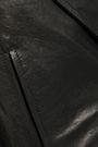 ANN DEMEULEMEESTER Cutout leather jacket