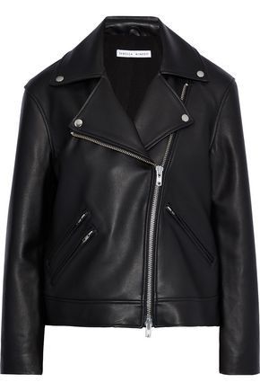 REBECCA MINKOFF Payton leather biker jacket