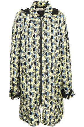 MARNI Twill hooded jacket