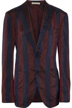 BOTTEGA VENETA Striped shell blazer