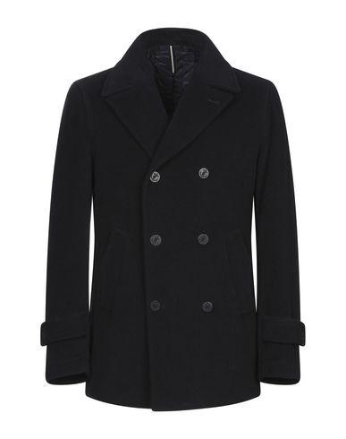 Фото - Мужское пальто или плащ JERRY KEY темно-синего цвета