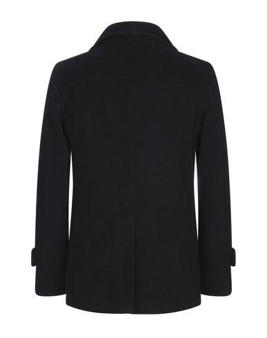 Фото 2 - Мужское пальто или плащ JERRY KEY темно-синего цвета