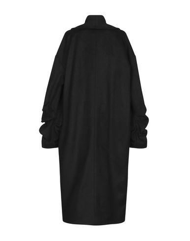 Фото 2 - Женское пальто или плащ HANITA черного цвета