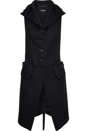 ANN DEMEULEMEESTER Priestley wool and satin vest