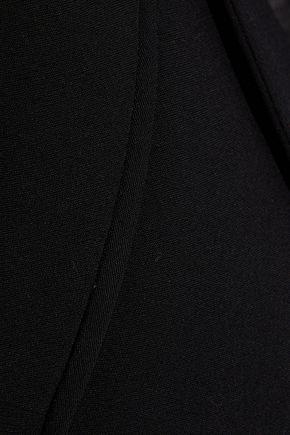 ANN DEMEULEMEESTER Bow-detailed crepe blazer