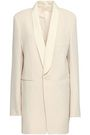 JOSEPH Canvas-trimmed virgin wool blazer