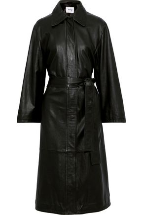 STAND STUDIO Eloise leather coat