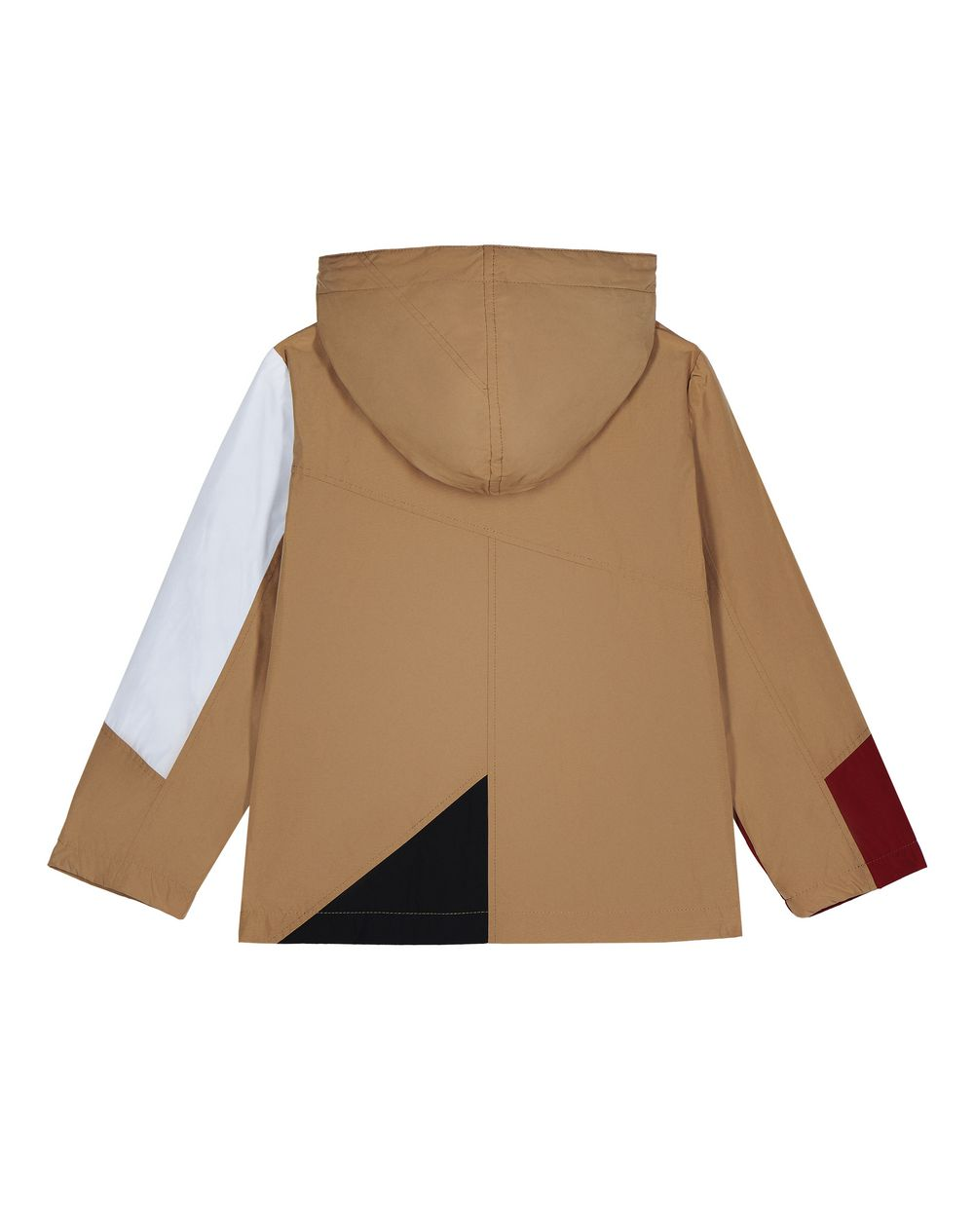 BEIGE COLOR-BLOCK PARKA   - Lanvin