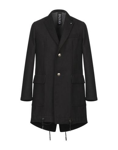Фото - Мужское пальто или плащ PARK8 черного цвета