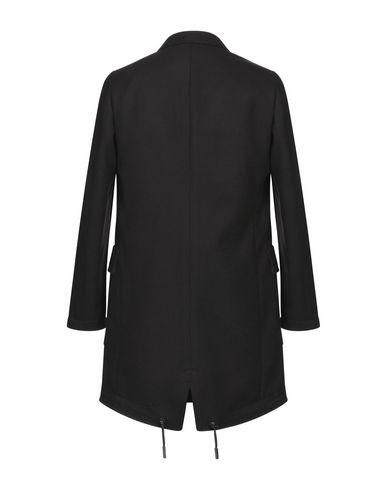 Фото 2 - Мужское пальто или плащ PARK8 черного цвета