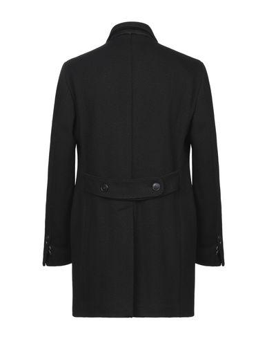 Фото 2 - Мужское пальто или плащ DOMENICO TAGLIENTE черного цвета
