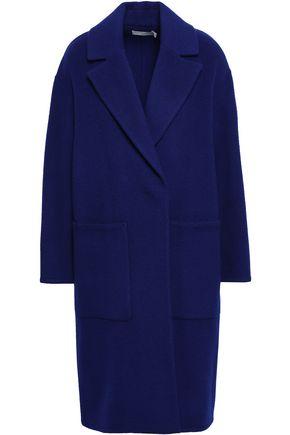 VINCE. Wool-blend felt coat
