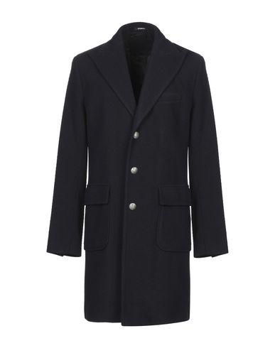 Фото - Мужское пальто или плащ OFFICINA 36 темно-синего цвета