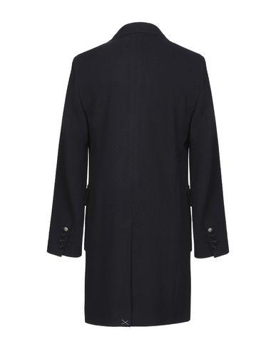 Фото 2 - Мужское пальто или плащ OFFICINA 36 темно-синего цвета