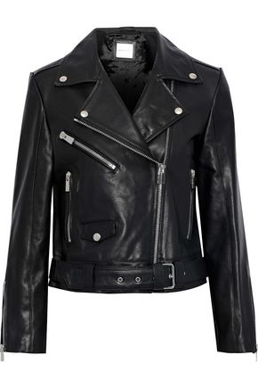 ANINE BING Jett leather biker jacket