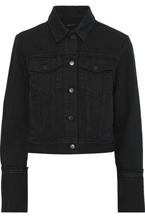 J BRAND Harlow frayed denim jacket