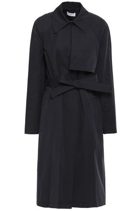 A.L.C. Belted twill trench coat
