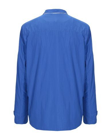 Фото 2 - Мужскую куртку OOF синего цвета