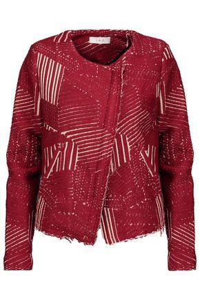IRO Metallic bouclé-tweed jacket