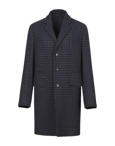 Фото - Мужское пальто или плащ  синего цвета