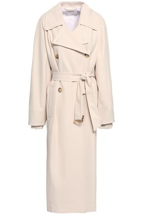 TIBI Double-breasted twill trench coat