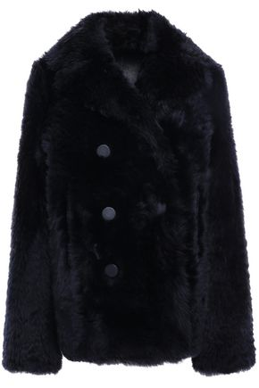 JOSEPH Double-breasted shearling coat