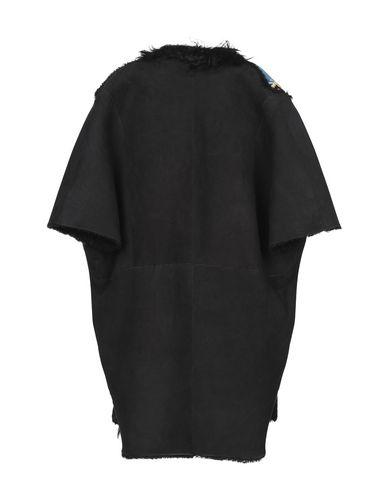 Фото 2 - Женское пальто или плащ 3OTTO3 черного цвета