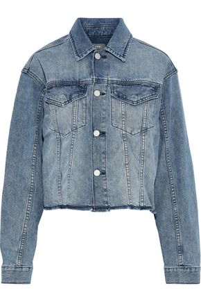 DL1961 Annie distressed denim jacket