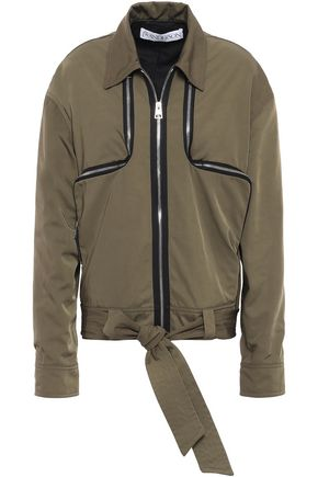 J.W.ANDERSON Zip-detailed shell bomber jacket