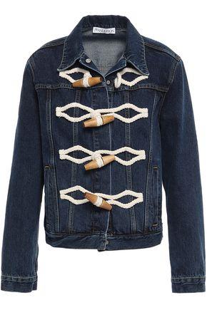 J.W.ANDERSON Braid-trimmed denim jacket