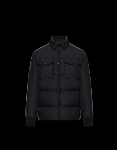 GRUSS Black Category Overcoats Man