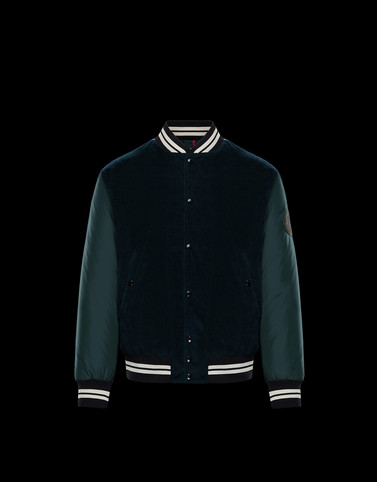 EXMOOR Dark green Category Bomber Jacket Man