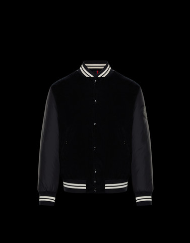 EXMOOR Black Category Bomber Jacket Man