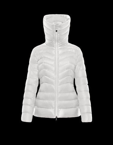 AULINE White Category Short outerwear Woman