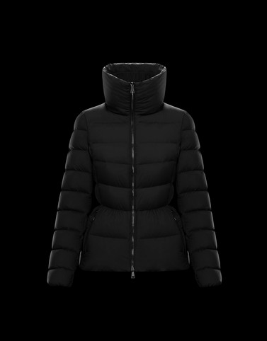NEVA Black Short Down Jackets Woman