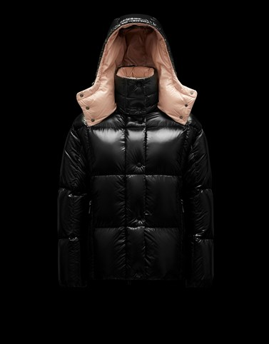 PARANA Black Short Down Jackets