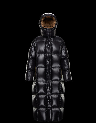 PARNAIBA Black Long Down Jackets